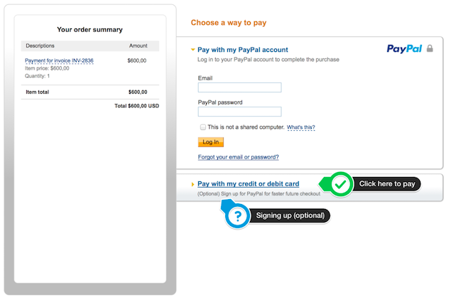 PayPal Credit Payment
