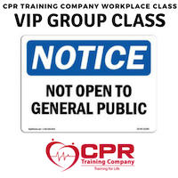 VIP Session for CPR Training Company