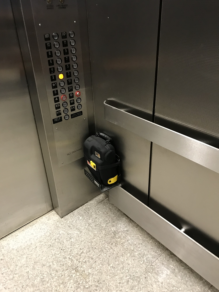 AED in Elevator