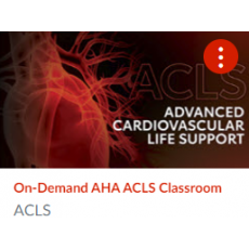 On-Demand AHA ACLS Course